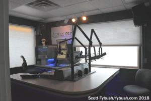 WLGZ's new studio