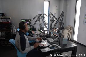 WXIR's studio