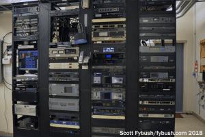 WHPT transmitter racks