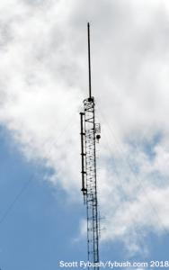 WMAZ's antennas