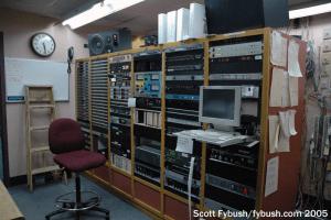 WPLJ rack room, 2005