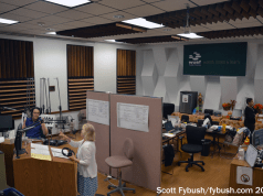 WUSF pledge studio