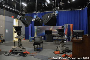 One of WITF's TV studios