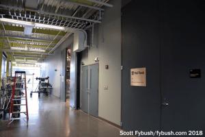 WMHT's TV studio hallway