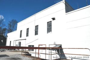 WBAL transmitter building
