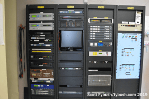 Transmitter site racks