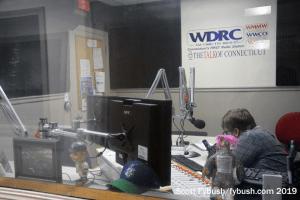 WDRC AM studio