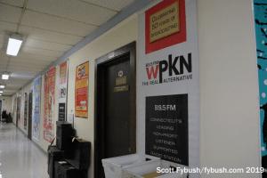 WPKN hallway