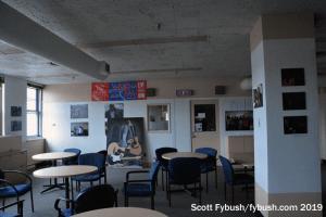 WMCK lounge area