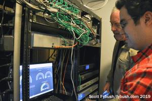 "Inside the ""Tech Pit"""