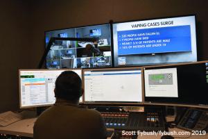 WOAI control room