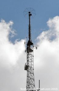 The old KSAT tower