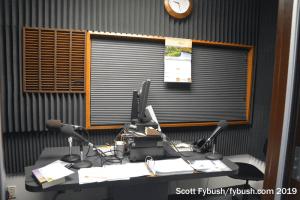 KHCB talk studio