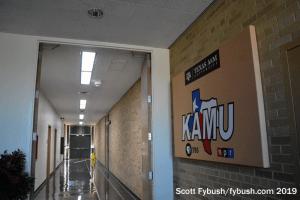 KAMU studio hallway