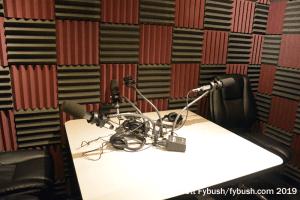 KAMU-FM talk studio