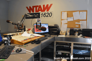 WTAW studio