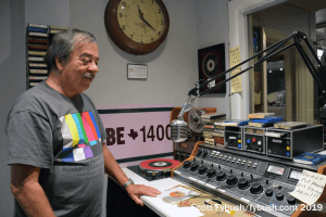 Chuck in a radio control room