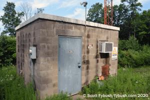 WAVR transmitter building