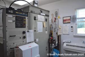 WGHT transmitter room