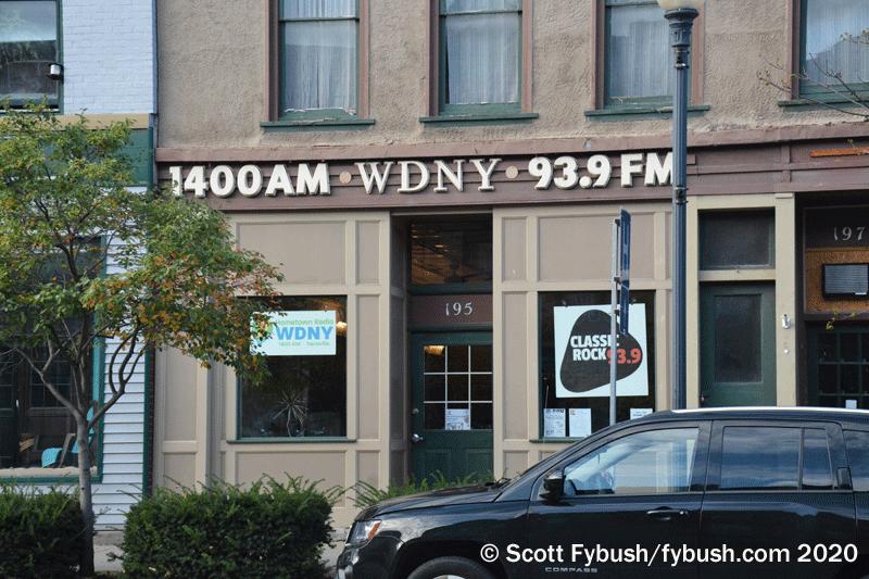 WDNY studio
