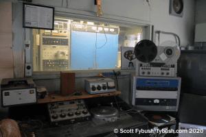 Studio at the WRRN transmitter