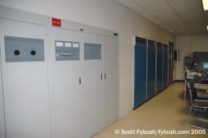WBZ's transmitter room