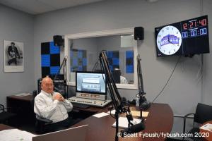 WEBR control room