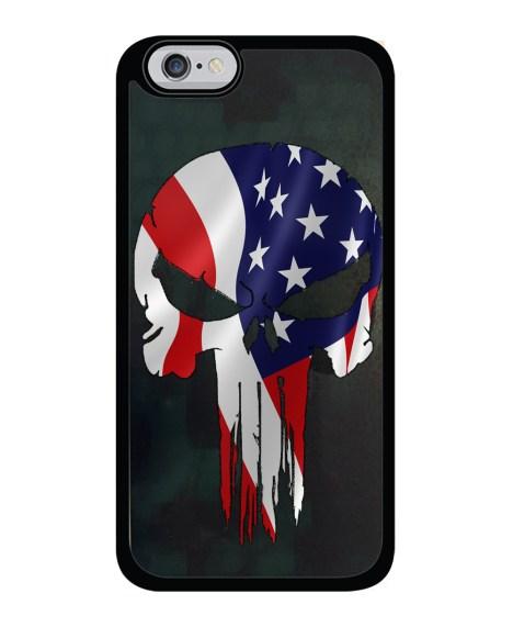 American Flag Skull - iPhone / Galaxy