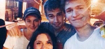 Photos: Theo James Celebrates Memorial Day Weekend in Atlanta with Shailene Woodley and Ansel Elgort