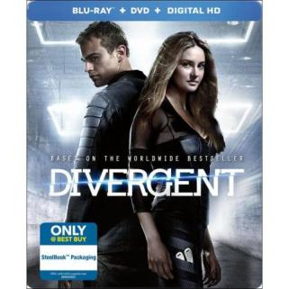 Divergent Steelbook Blu-ray - Best Buy Exclusive