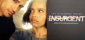 Photo: Zoe Kravitz Shares Picture of Her and Theo James on Insurgent Set