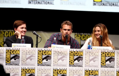 """Divergent"" Panel - Comic-Con International 2013"