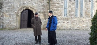 Theo James Continues Filming 'The Secret Scripture' in Ireland