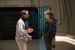 Insurgent behind the scenes