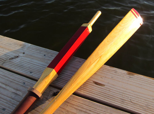 plans for wooden oars