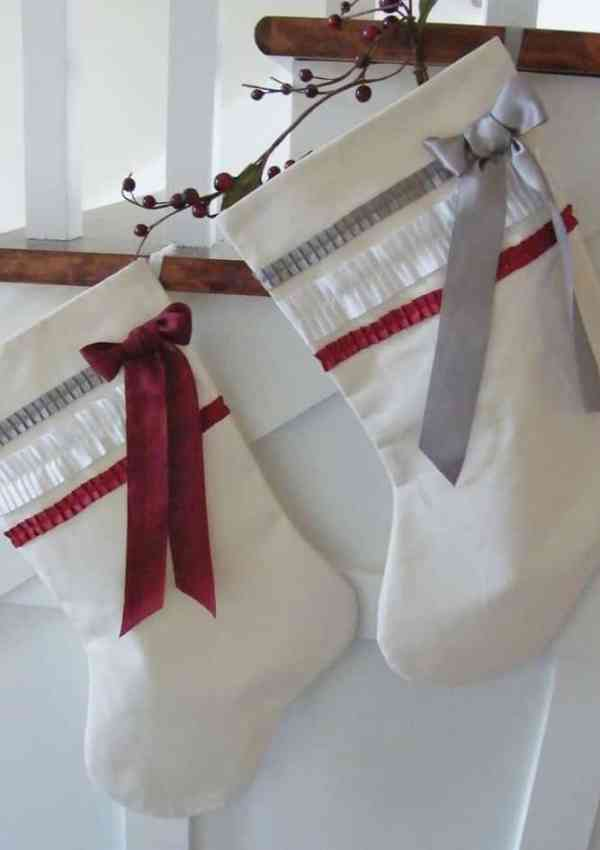 Chic Christmas Stockings