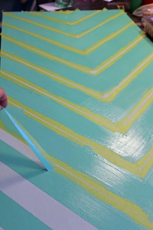 chevron template for painting - easy no measure chevron pattern fynes designs fynes