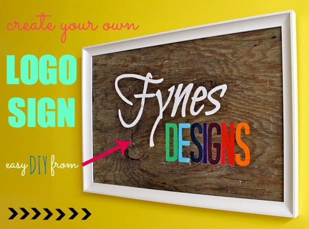 Cheap Art Week Diy Logo Sign Fynes Designs Fynes Designs