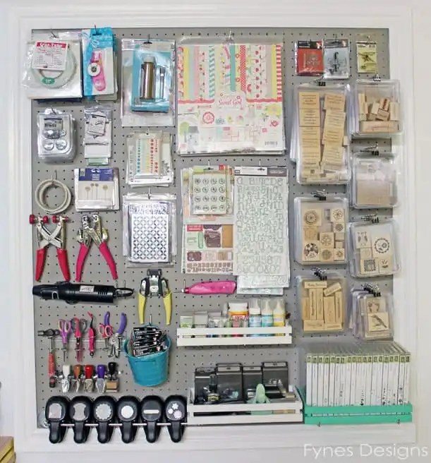 Storage Room Design Ideas: Craft Room Organizing Ideas - FYNES DESIGNS