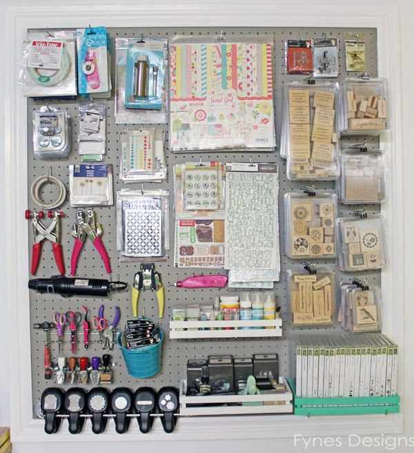 Craft Room Organizing Ideas