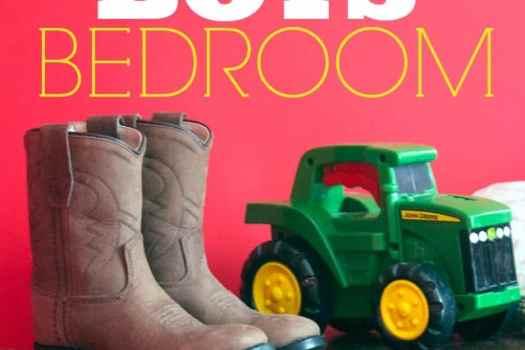 Sweet little boys' bedroom ideas