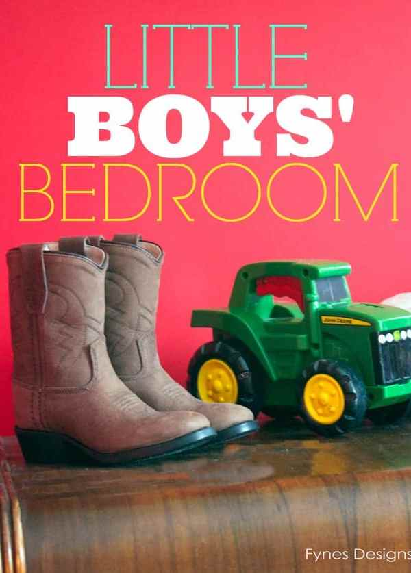 Boys Bedroom- From the Fynes House