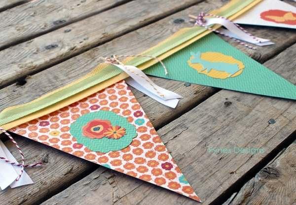 Paper Banner- Blog Hop Swap