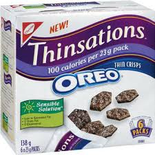 Top 10 Low Point Yummy Weight Watchers Snacks featured by top US life and style blog, Fynes Designs: Oreo thinsations snacks