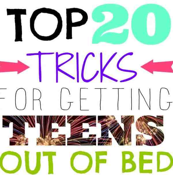 Top 20 Tricks for Getting Your Teen Out of Bed