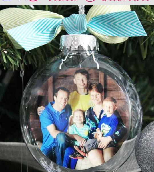 DIY Glass Photo Ornament, a tutorial featured by top US life and style blog, Fynes Designs: Easy DIY photo ornaments. Great tutorial with photo steps.