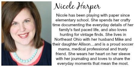 Nicole Harper Bio | Craft Gifts by popular Canada lifestyle blog, Fynes Designs: image of Nicole Harper.