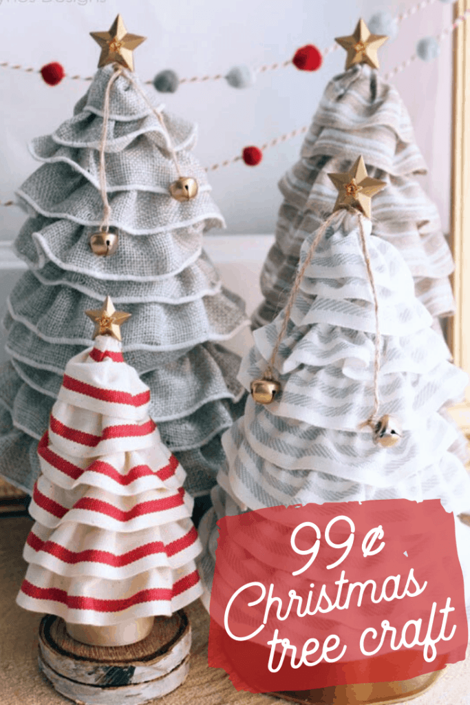99¢ Christmas Tree Craft