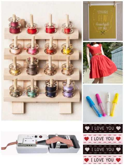 Sewing Gift ideas for the Seamstress in your life- 50 fantastic Craft lady gift ideas