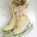 Vintage Skate Door Hanger-The 12 Days of Door Decor Day #5-
